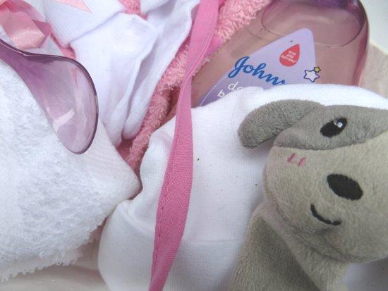 Kraamcadeau geboorte baby meisje dochter 9-delig