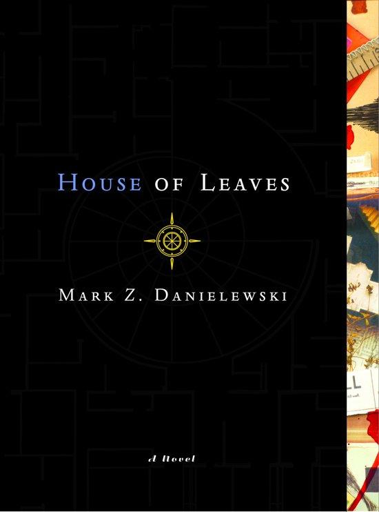 Boek cover House of Leaves van M. Z. Danielewski (Onbekend)