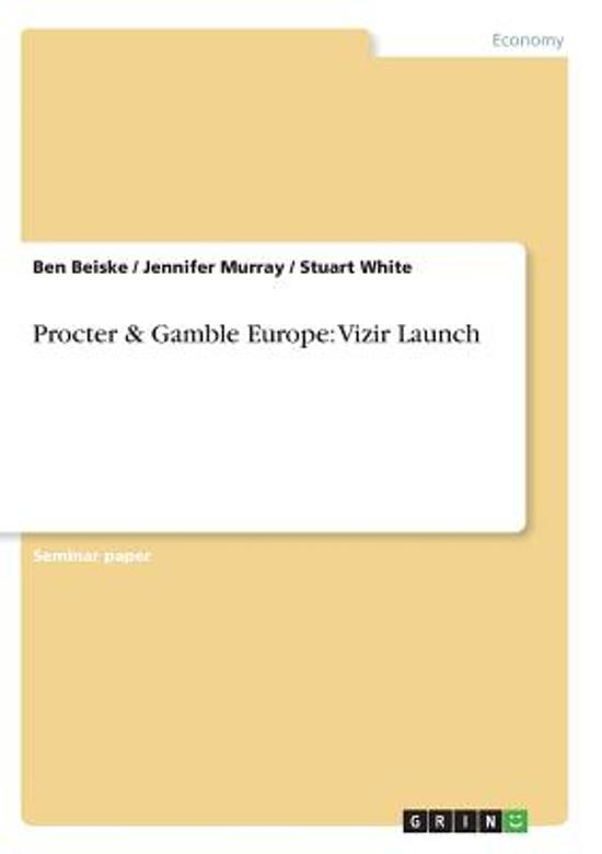proctor and gamble case vizir launch