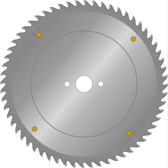 RvS Tools RVS Zaagbl Mfs 160x2,6x20 48T Hm Trespa