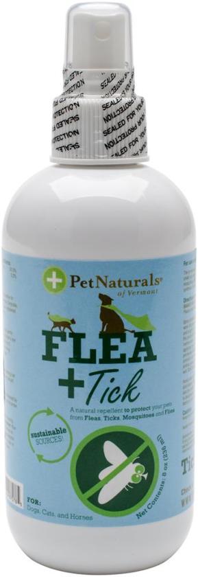 Pet Naturals - Vlooien en tekenspray voor honden en katten - flacon 236ml