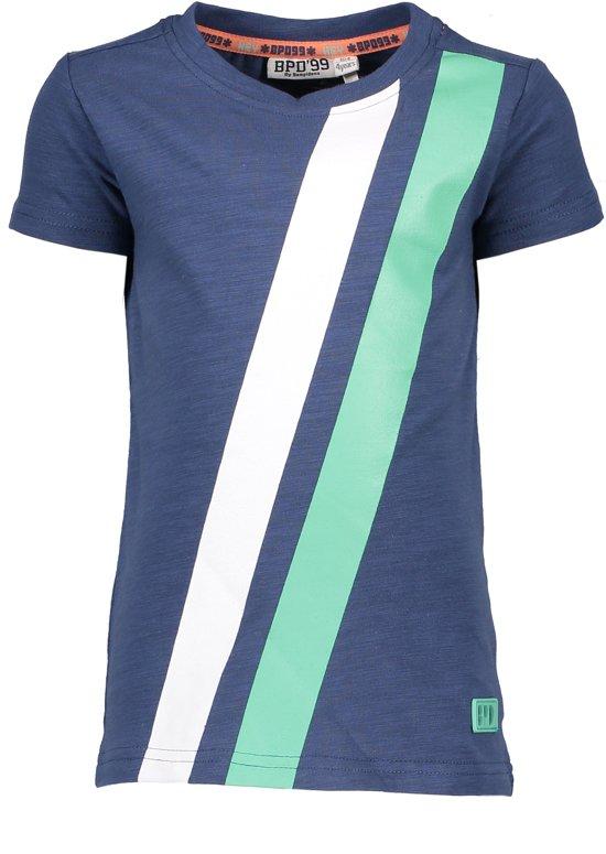 Bampidano T-shirt Stripe maat 110/116