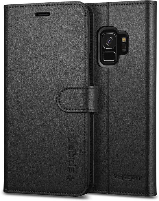 Sâ Portefeuille Noir ¢ Booktype Pour Samsung Galaxy S9 pQo4dpX