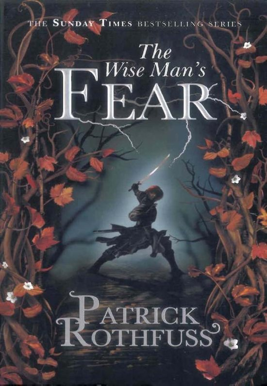 Boek cover The Wise Mans Fear van Patrick Rothfuss (Paperback)