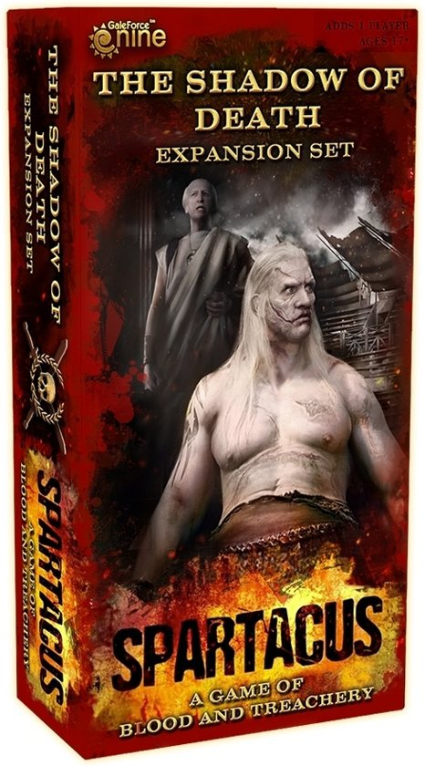 Afbeelding van het spel Spartacus - The Shadow of Death Expansion