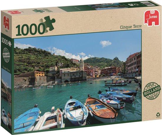 Cinque Terre Italië Puzzel 1000 stukjes