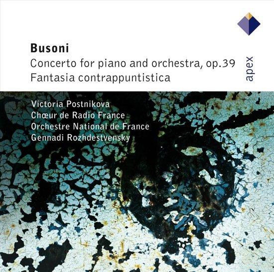 Busoni:Concerto Op.39 P.(Apex)