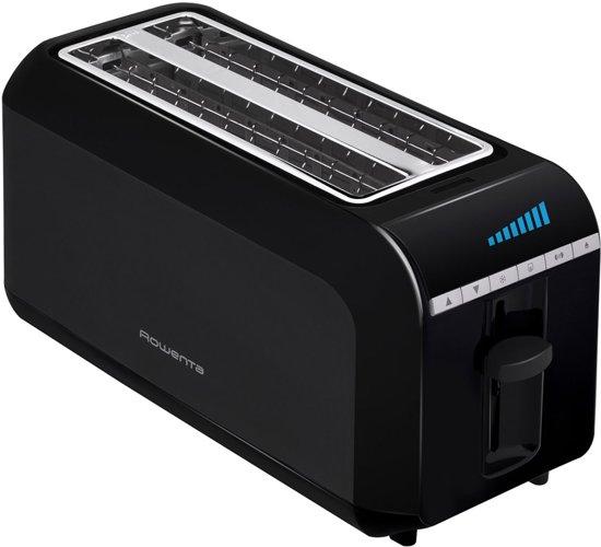 Broodrooster 2 gleuven & LCD-scherm Rowenta FE CD zwart TL681830