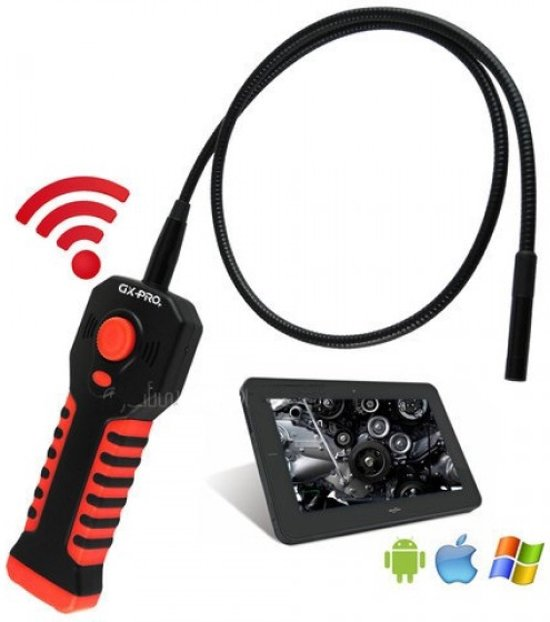 Verwonderend bol.com | DW600 Wifi Endoscoop inspectiecamera set 8.5mm voor GC-47