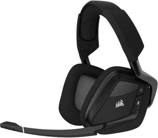 Corsair Void Pro RGB - Draadloze Gaming Headset - Carbon Zwart - PC