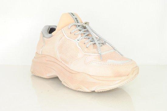 Bronx Sneaker Bronx Dames Baisley Sneaker Nude kOP08wXn