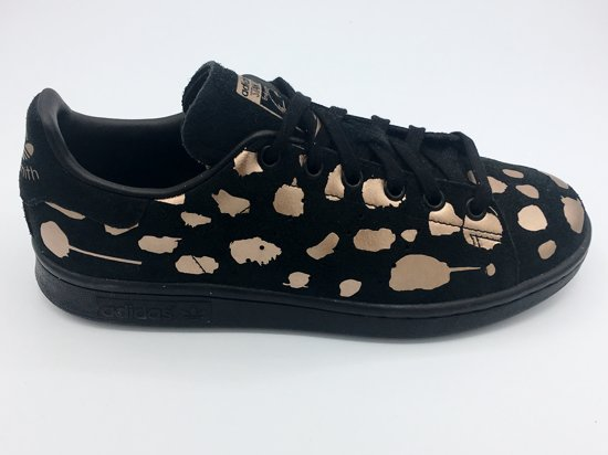 1c907686ea4 bol.com | Adidas Stan Smith black copper sneakers dames