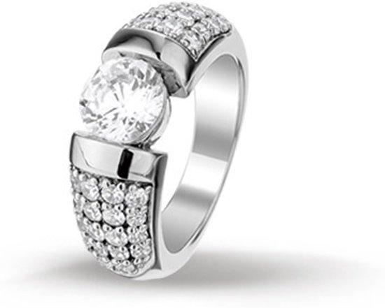 Huiscollectie 1313218 Zilveren zirkonia ring