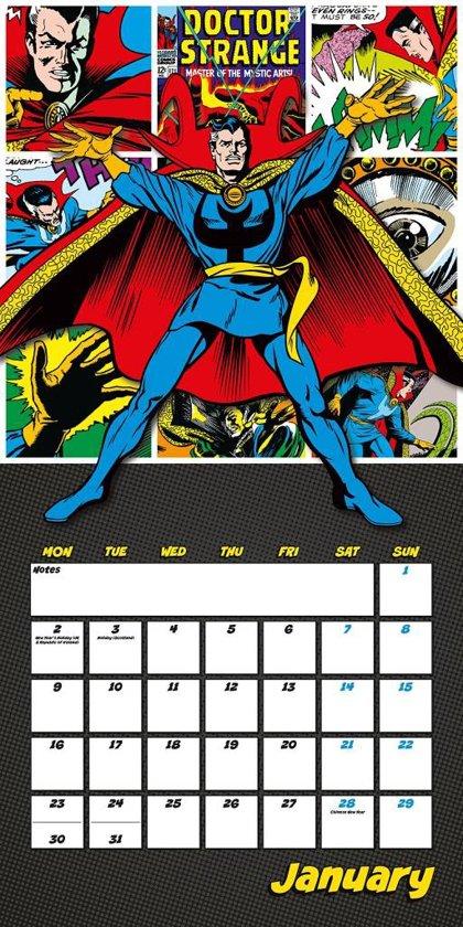 Bol Marvel Comics Classic Official 2017 Square Calendar