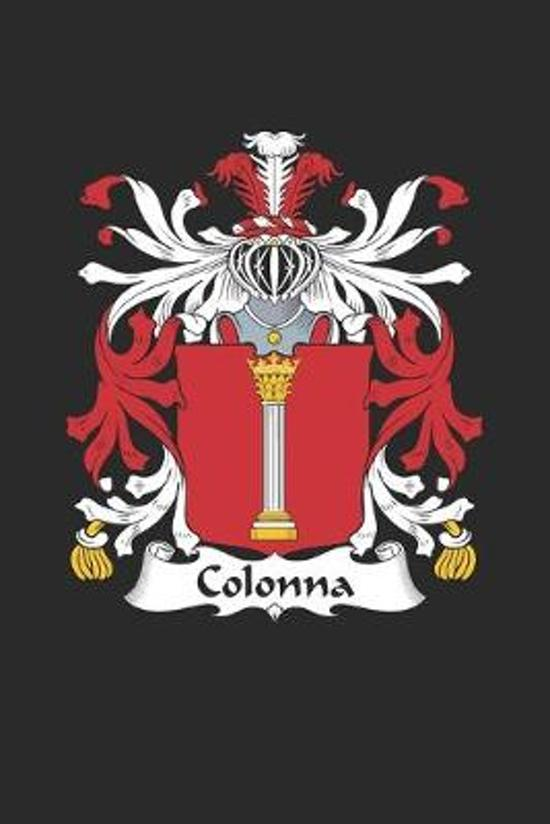 Colonna: Colonna Coat of Arms and Family Crest Notebook Journal (6 x 9 - 100 pages)
