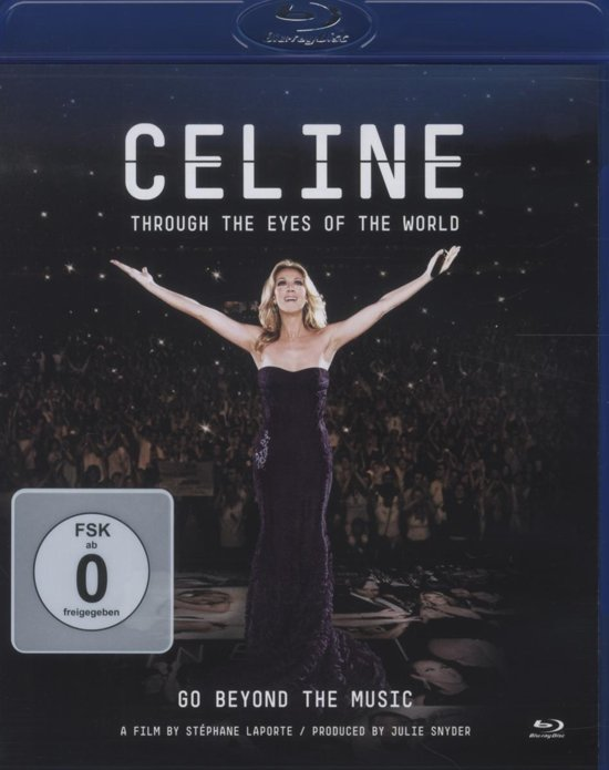 Celine Dion - Through The Eyes Of The World (Blu-ray)