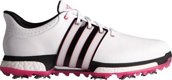 Adidas Golfschoenen Tour 360boost Wd Heren Wit/zwart/roze Maat 44 2/3
