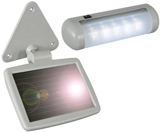 bol.com | Zonne Energie Verlichting voor Tuinhuis en Buiten - Draagbaar