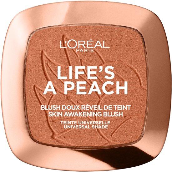 L'Oréal Paris Make-Up Designer Wake Up & Glow Blush - 01 Life's A Peach - Blush