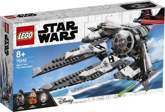 LEGO Star Wars Black Ace TIE Interceptor - 75242