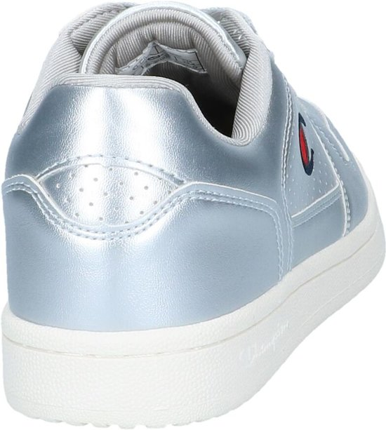 Metallic Champion Chicago Low Basket Zilveren Sneakers vqPvF