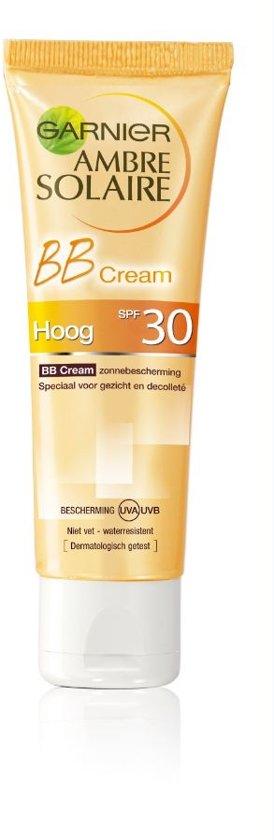 Garnier Ambre Solaire BB Cream Gezicht - SPF 30 - 50 ml - Zonnebrand crème