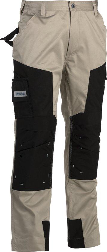 Werkbroeken met kniestukken Herock CAPUA Werkbroek Beige/ZwartNL:44 BE:38