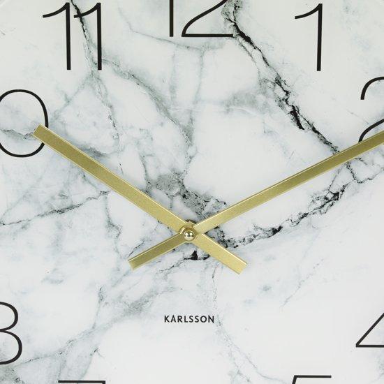 Karlsson Glass Wandklok M Ã 40 cm
