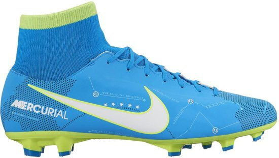 newest e8690 eaa79 Nike - Mercurial Victory VI DF Neymar FG - Voetbalschoenen - BlauwGeel -  Maat
