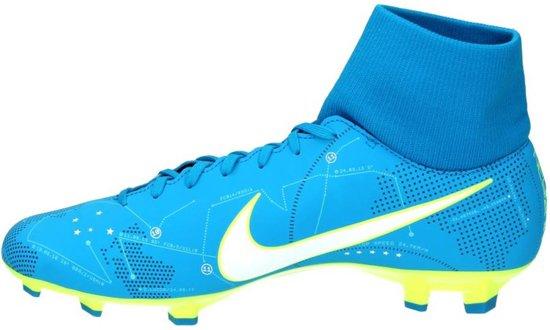 Nike Mercurial Victory VI DF Neymar FG Voetbalschoenen BlauwGeel Maat 44