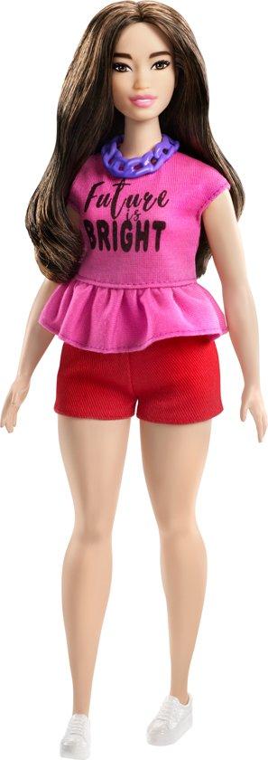 Barbie Fashionistas Met Roze Topje -Barbiepop