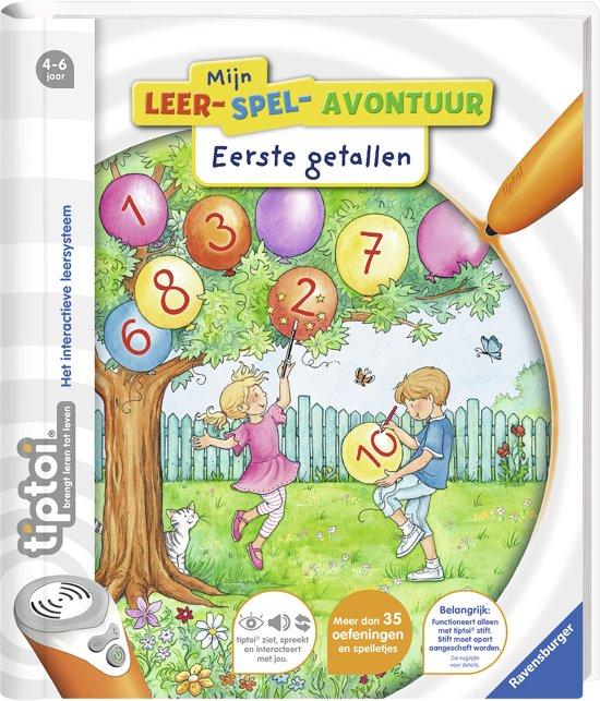 tiptoi® boek Mijn leerspel avontuur Eerste getallen
