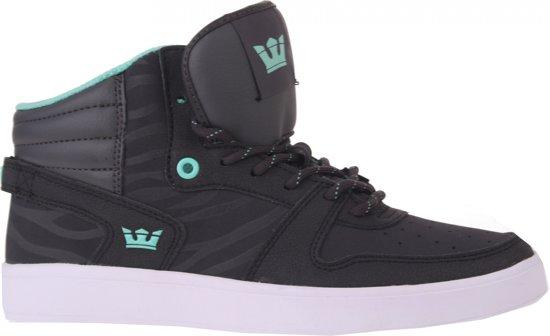 Mens Supra Passion Sneakers Taille Gris Foncé 40,5