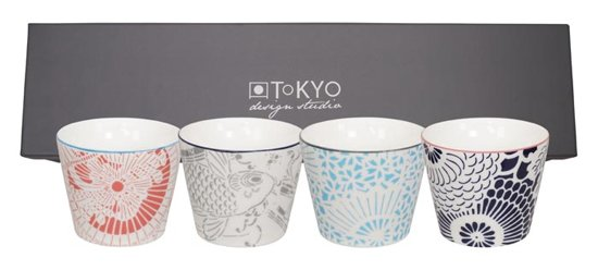 Tokyo Design Studio Shiki kopjes 180ml (set van 4)
