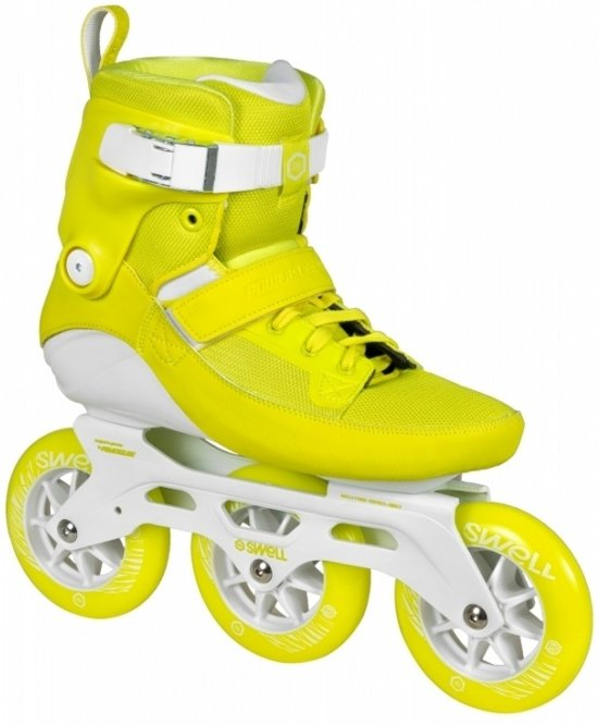 Powerslide Inline Skates Swell Unisex Lime Maat 37
