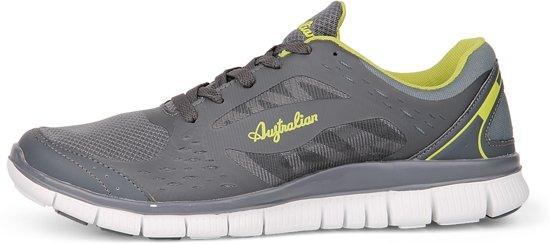 Grijs Sportschoenen 45 Maat Freedom AustralianHeren Runner HDY2IW9eEb