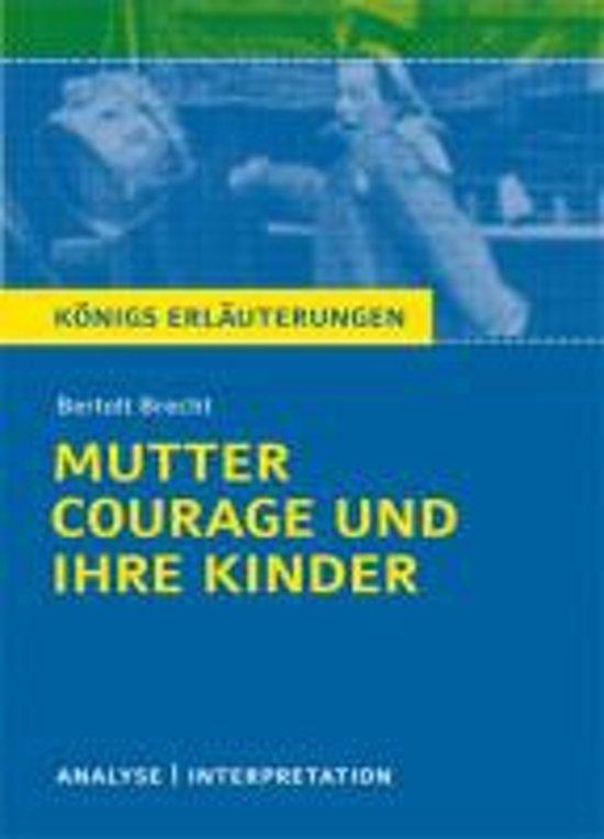 Bolcom Mutter Courage Und Ihre Kinder Textanalyse Und