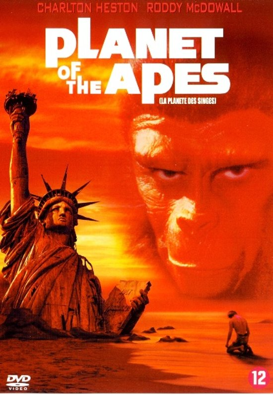 Cover van de film 'Planet Of The Apes'