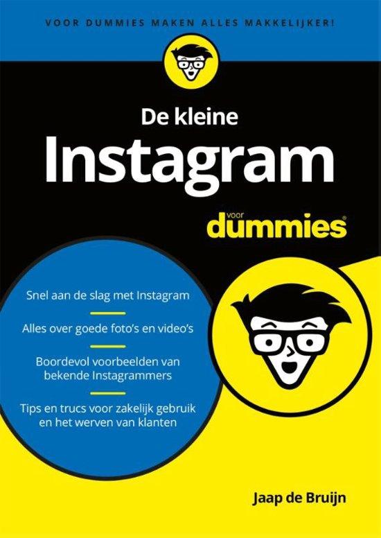 De kleine instagram voor dummies by Jaap de Bruijn
