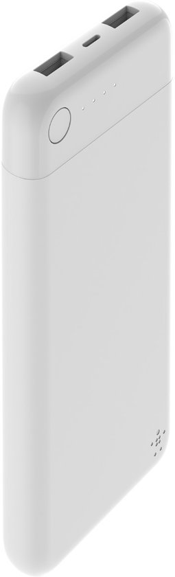 Belkin Lightning Powerbank – 10.000mAh – Wit