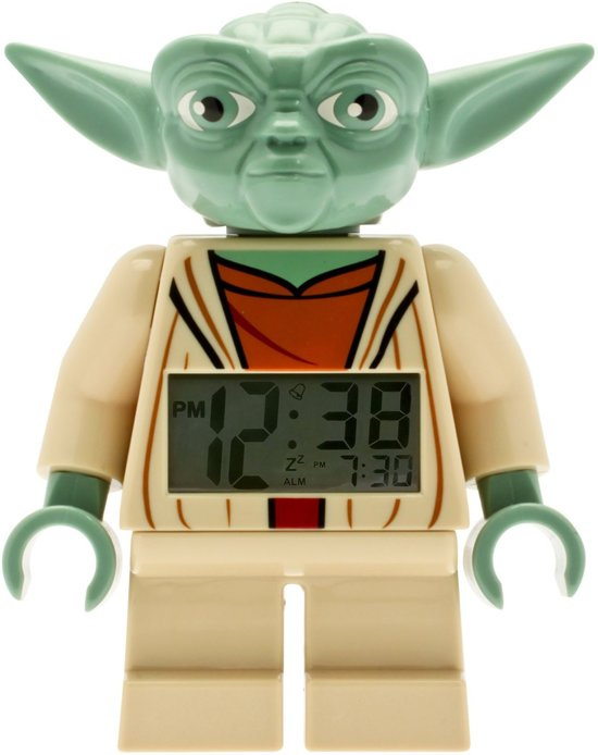 LEGO Star Wars Yoda Wekker