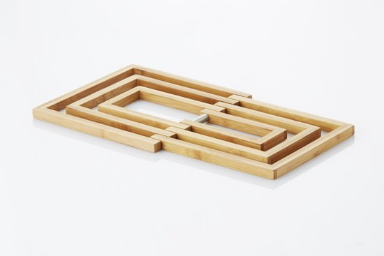Point-Virgule Bamboo Potonderzetter - Uitklapbaar
