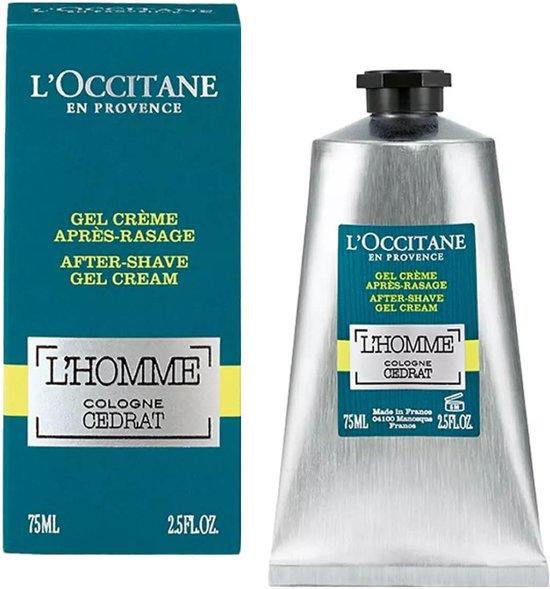 Aftershave Gelcream l'Homme Cologne Cedrat l'Occitane