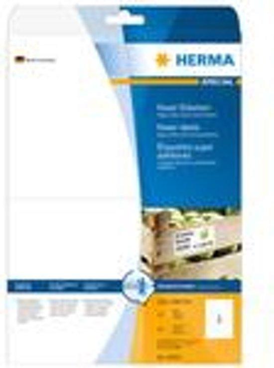 HERMA Etiketten A4 wit 210x148 mm extreem hechtend 50 St.