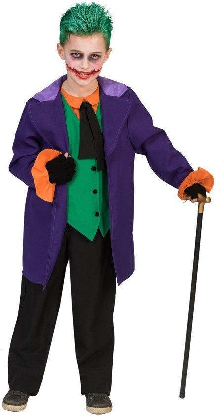 Joker Kostuum   The Joker Uit Batman   Jongen   Maat 140   Halloween   Verkleedkleding