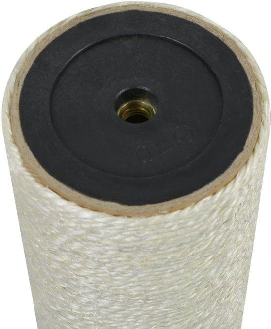 Kattenkrabpaal 8x45 cm 10 mm beige