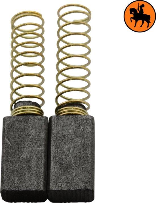 Koolborstelset voor AEG Schuurmachine SB218 - 5x8x14mm - Vervangt 4.931.361.733