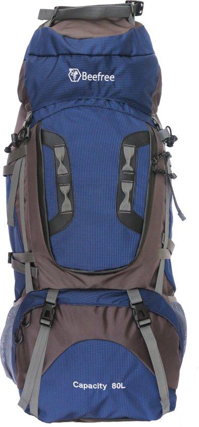 404b023c441 bol.com   Beefree 80 Liter nylon Backpack - Blauw