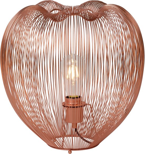 bol lucide wirio tafellamp à 35 cm koper