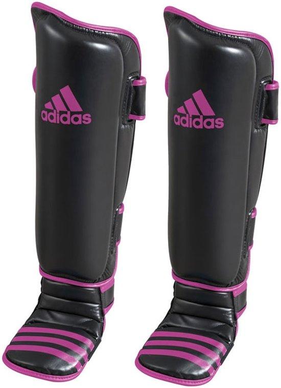 adidas Scheen- En Wreefbeschermers Economy Zwart/Roze Large/Extra Large